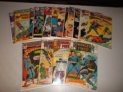 World's Finest (Bronze Age Lot of 16) 182 189 190 200 203 204 208 209 210 211