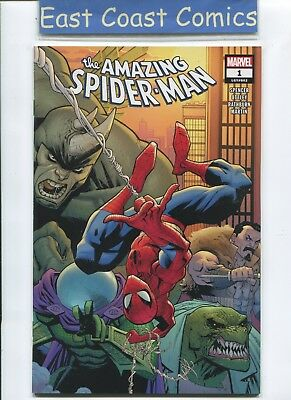 Amazing Spider-Man #1 - Wraapround Cover - Marvel 2018