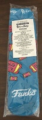 FUNKO Rick And Morty Blips and Chitz exclusive socks Funko Unisex NEW SEALED