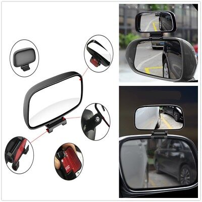 Auxiliary Mirror Adjustable Dead Angle Zone Of Sight Rear View Mirror Universal