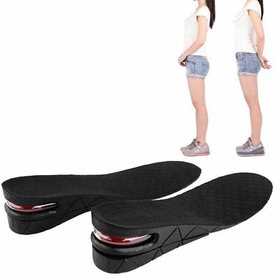 1Pair Unisex Increase Height Shoe Insole Air Cushion Pad Heel Lift Insert Taller