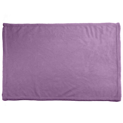Solid Versatile Super Soft Warm Small Throw Blanket Microplush Multipurpuse
