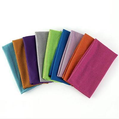 Outdoor Sports Cooling Towel Cycling Jogging Exercise Ice Cold Sweat Towel JA