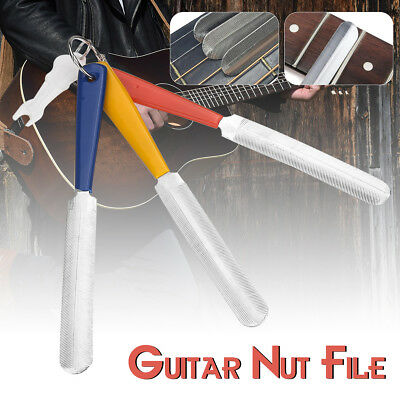 Quality Guitar Nut File Set 3 Double Sided For Guitar Bass Luthiers Tool Brand