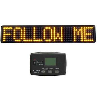 Haztec matrix LED fixed message display board for abnormal load / recovery 12V