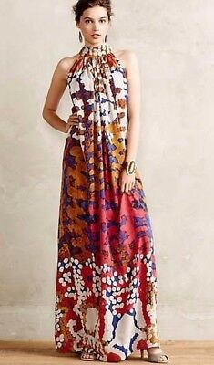 6450a616ae9ae Lorna Fencer for Roopa Pemmaraju Anthropologie Maxi Dress Size 6-10 Orig.  $298