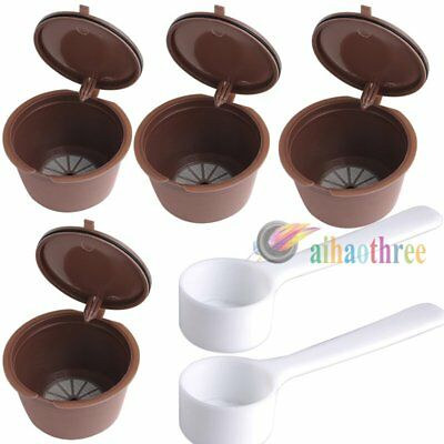 Refillable Reusable Coffee Capsules Pod Cup Nescafe Dolce Gusto Coffee Filter