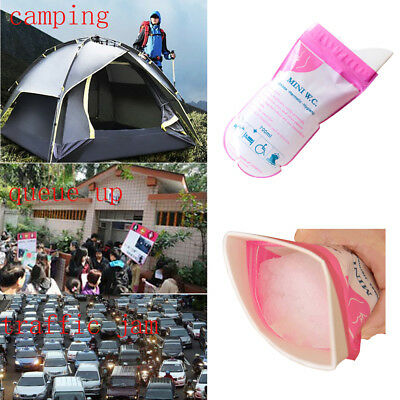 1/4PCS 700ML Outdoor Vomit Bags Unisex Emergency Storage Urine Bag Leakproof