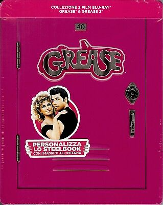 Grease & Grease 2 Collection Limited Edition SteelBook (Region Free Italy Imp.)