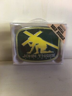 JOHN THREE SIXTEEN BELT BUCKLE NIB Christian Belt Buckle