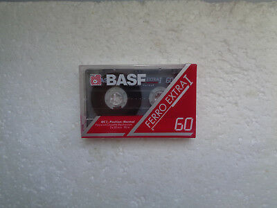 Vintage Audio Cassette BASF Ferro Extra 60 * Rare From Germany 1991 *