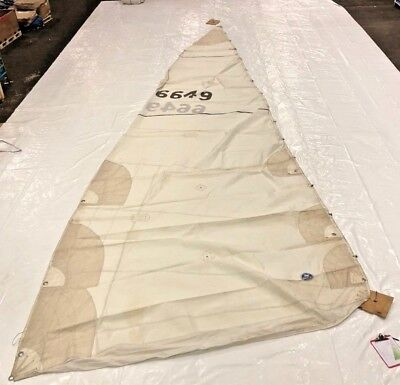 Mainsail By North Sails - 34' Luff, Fair Condition