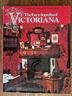 1975 The Encyclopedia Of Victoriana Mcmillan Antique Collector Reference Book