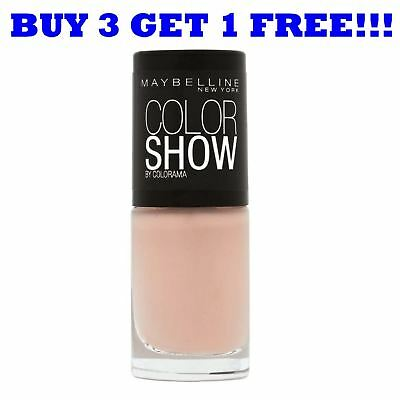 MAYBELLINE NAIL POLISH Color Show 60 Seconds 7ml Latte 254 - £2.69 ...