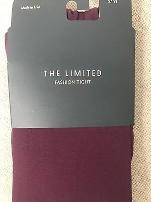 NWT The Limited Purple Tights Size S/M