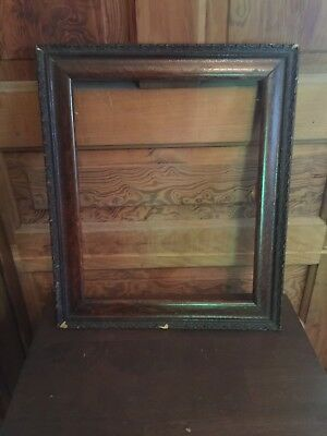 Antique Ornate Wooden Picture Frame
