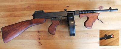 "Denix Replica Thompson M1928 ""Tommy Gun"", Non-Firing, Rare"