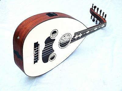 Fava Turkish Quality Half Cut Electro Acoustic Oud Ud
