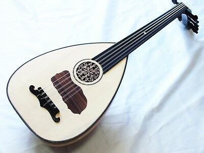 Adam Arab String Instrument Long Neck Oud W/ Softcase