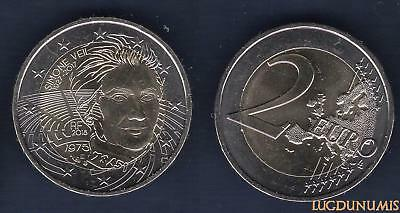 2 Euro Commémo France 2018 Simone Veil - France
