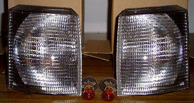 Range Rover P38 4.0 4.6 SE HSE Euro Clear Front Corner Lamps 1995-2002 Brand New