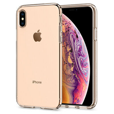 For Apple iPhone X, XS, XS Max, XR Case Spigen® [Liquid Crystal] Clear Cover