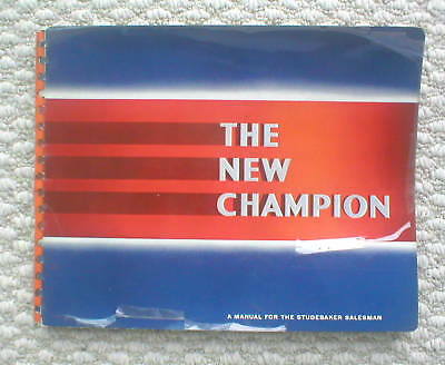 1939 Studebaker Champion Rivenditore Only Salesmans Brochure