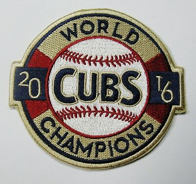 Lot Of (1) Mlb Chicago Cubs Cub 2016 World Champions Baseball Patch Item # 55