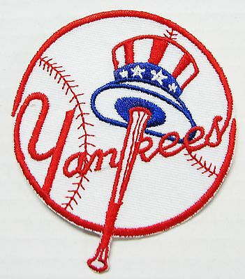 Lot Of (1) Mlb Baseball New York Yankees Embroidered Patch Item # 47