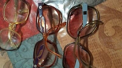 Vintage playboy sunglasses frames grey and purple Austria and rodenstock germany