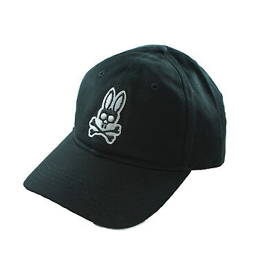 Psycho Bunny Curved Cotton Twill Visor Hat