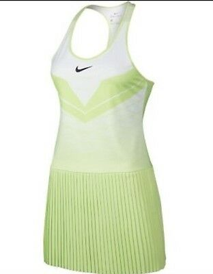 B2 Nike Maria Dri-Fit Racer Back Tennis Dress Mint Green  800466-701 S Small