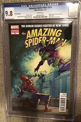 Amazing Spider-man #674 Variant 50th Anniversary Silver Surfer #4 Cover Swipe