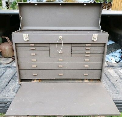 Kennedy No.52611 11 Drawer Machinist's Tool Chest