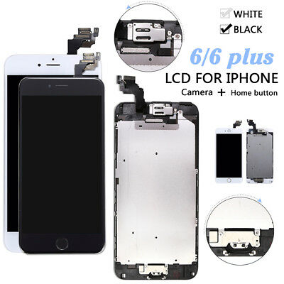"""OEM iPhone 6s Plus 5.5"""" Replacement LCD Digitizer Complete Screen + Home Button"""