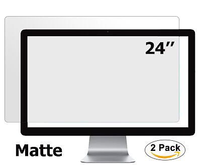 Anti Glare Matte Screen Protector for Desktop Monitor 24 inch Display 16:9