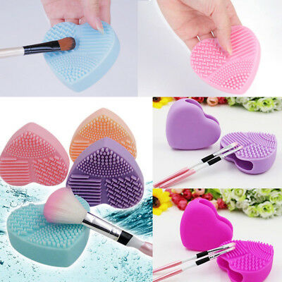 Makeup Brush Cleaner Cosmetic Cleaning Silicone Scrub Foundation Egg Glove Tool