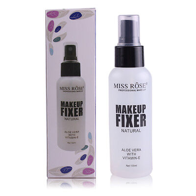 100ml Natural Fixer Makeup Spray Long Lasting Cosmetic Finish Use Spray Bottle