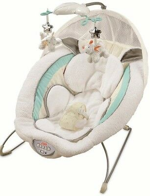Fisher Price My Little Lamb Deluxe Infant Vibrating Bouncy Seat