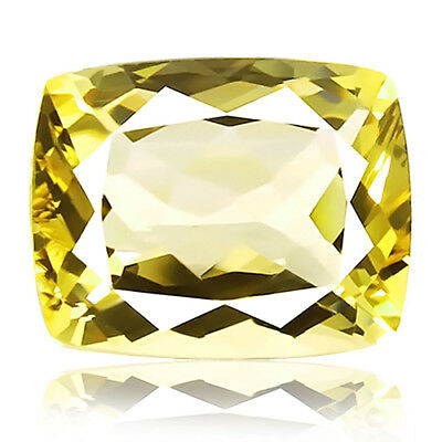 3.69ct 100% Natural earth mined extremely rare aaa golden yellow beryl brazil