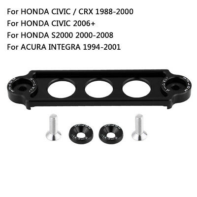 Car Racing Battery Tie Down Hold Bracket Lock Anodized For Honda Civic CRX 88-00