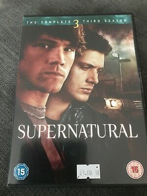 Supernatural - The Complete Third Season DVD - Good Condition - DVD