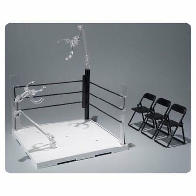 Ring Corner Neutral and Pipe Chair Set Action Figure Stand
