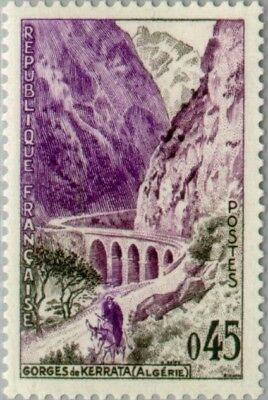 EBS France 1960 Tourism - Kerrata Gorges (Algeria) MNH** (FR1285)