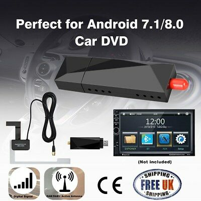 2018 USB DAB+ Digital Radio Tuner USB Dongle for XTRONS Android 7.1/8.0 Car DVD