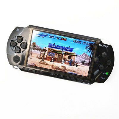 Refurbished Sony PSP-1000 Clear Black Handheld System PSP 1000 Game Console