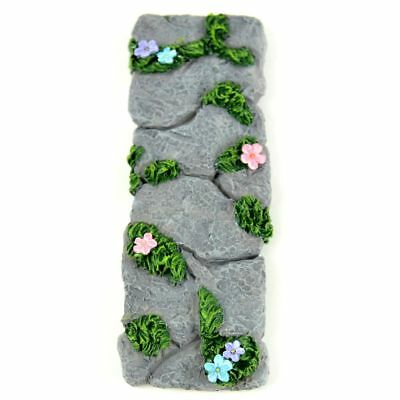 Miniature Dollhouse Fairy Garden Stone & Flower Pathway - Buy 3 Save $5