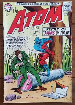 The Atom 14, Dc Comics, September 1964, G