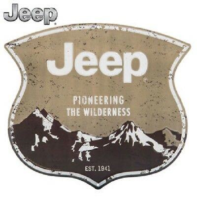 JEEP Pioneering The Wilderness Metal Sign Vintage Man Cave Home decor wall