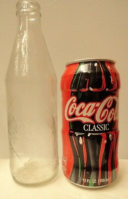 Coca-Cola Test Market Can From 1998 & First Throw Away Bottle From 1964